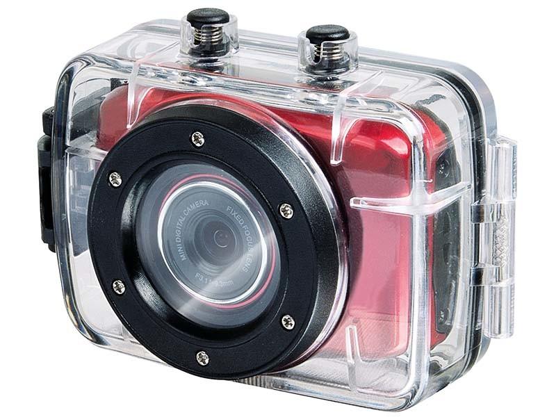 Digitálna videokamera  Trevi GO 2200 HD červená