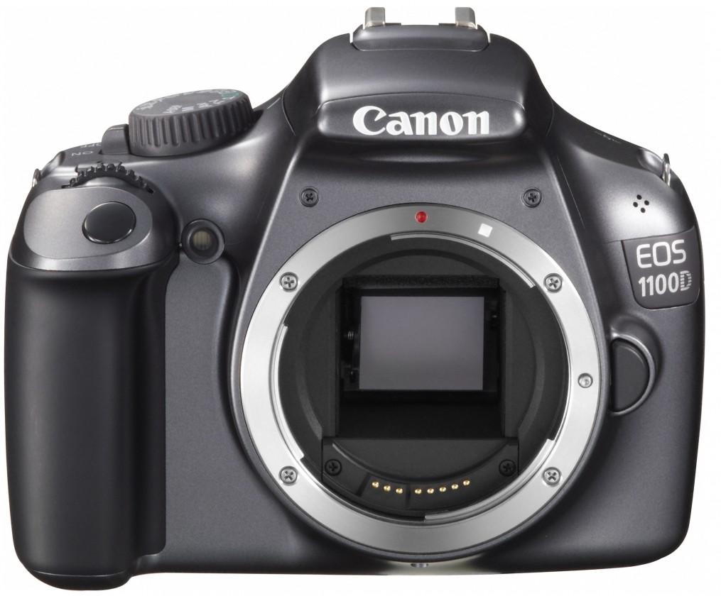 Digitálna zrkadlovka Canon EOS 1100D Black BODY
