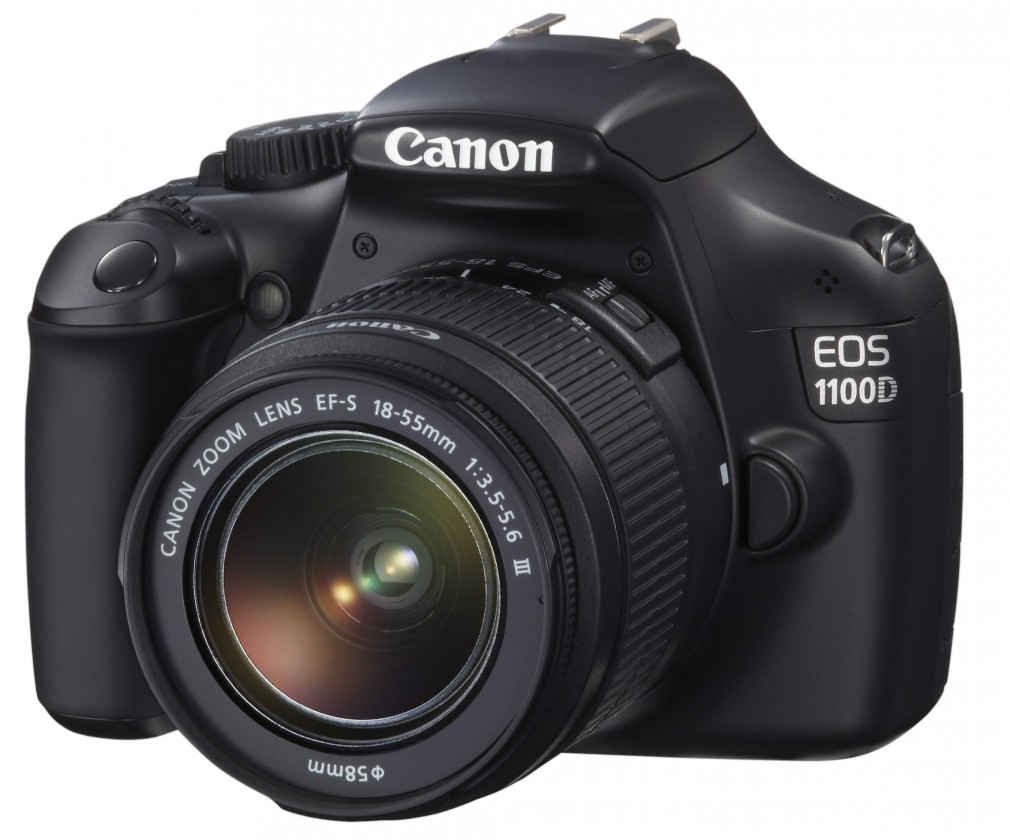 Digitálna zrkadlovka Canon EOS 1100D BLACK + EF 18-55 IS II ROZBALENO