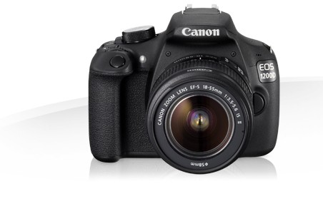 Digitálna zrkadlovka Canon EOS 1200D + 18-55DC Value Up Kit