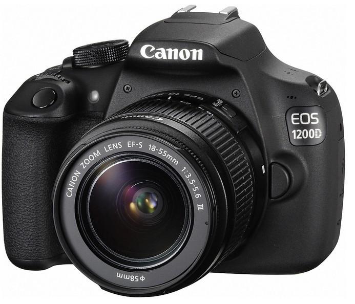 Digitálna zrkadlovka Canon EOS 1200D + 18-55DC Value Up Kit ROZBALENO