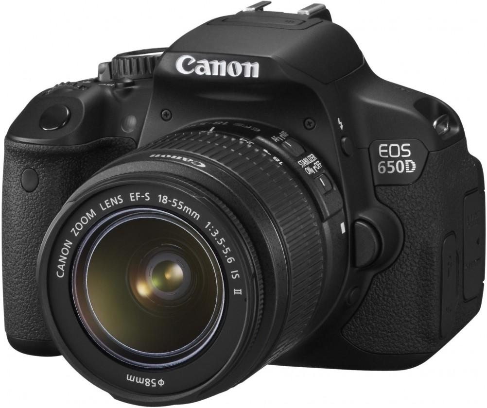 Digitálna zrkadlovka  Canon EOS 650D + 18-55 mm IS II