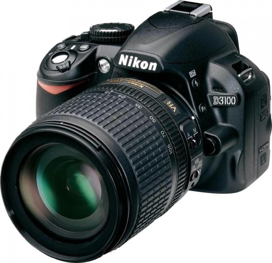 Digitálna zrkadlovka  Nikon D3100 + 18-105 AF-S DX VR