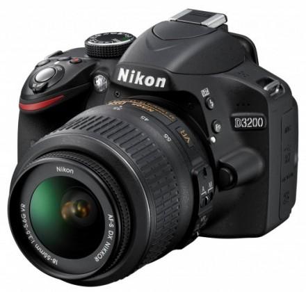 Digitálna zrkadlovka Nikon D3200 + 18-55 AF-S DX VR II + 55-200 AF-S VR