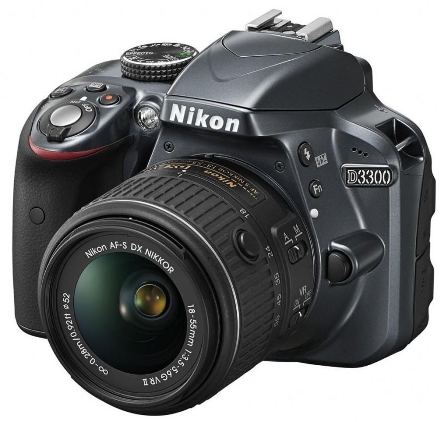 Digitálna zrkadlovka Nikon D3300 + 18-55 AF-S DX VR II