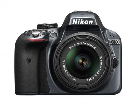 Digitálna zrkadlovka Nikon D3300 Grey + 18-55 VR II