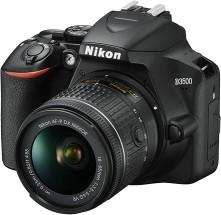 Digitálna zrkadlovka Nikon D3500 + objektív 18-105mm VR, čierna