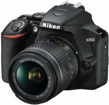 Digitálna zrkadlovka Nikon D3500 + objektív 18-55mm VR, čierna