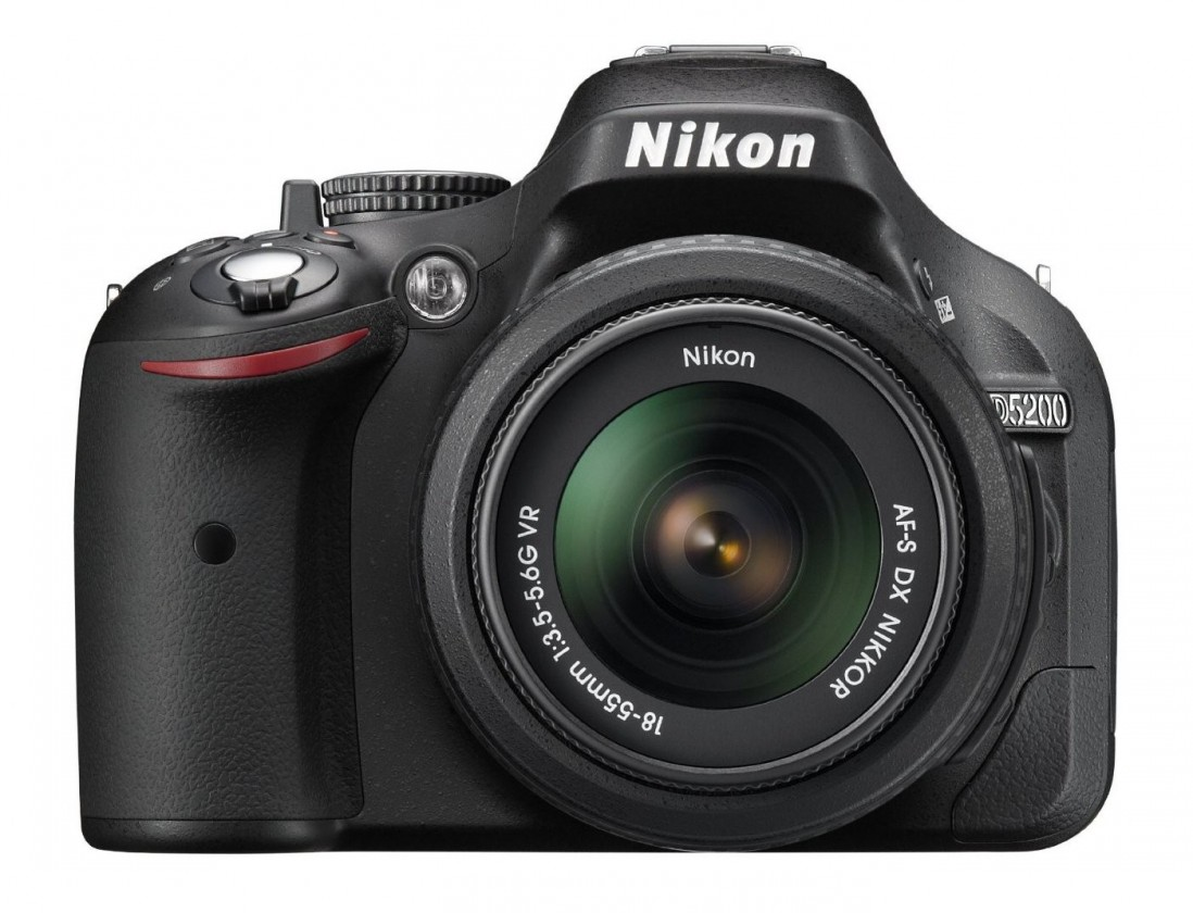 Digitálna zrkadlovka NIKON D5200 + 18-55 AF-S DX VR II + 55-200 AF-S VR