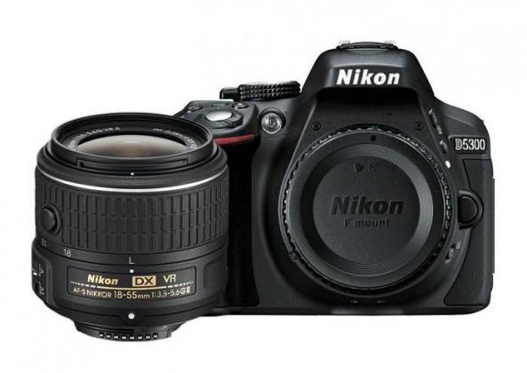 Digitálna zrkadlovka Nikon D5300 + 18-55 AF-S DX VR II