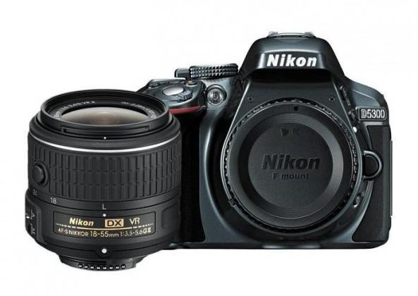 Digitálna zrkadlovka Nikon D5300 Grey + 18-55 AF-S DX VR II
