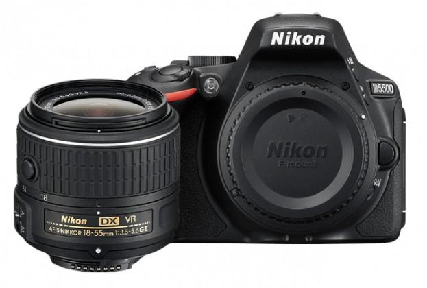 Digitálna zrkadlovka Nikon D5500 + 18-55mm VR II Black KIT