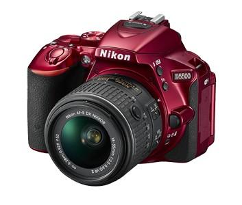 Digitálna zrkadlovka Nikon D5500 + 18-55mm VR II Red KIT