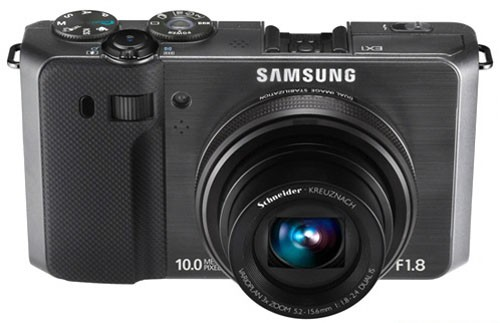 Digitálne fotoaparát Samsung EC-EX1, čierny