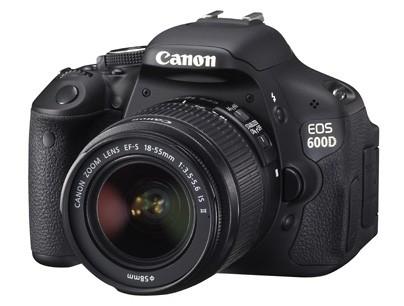 Digitálne fotoaparáty  Canon EOS 600D + EF 18-55 IS + EF 55-250 IS