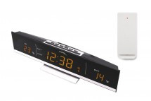 Digitální teploměr s budíkem s LED displejem TechnoLine WS6810A