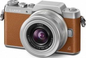 Digitálny fotoaparát Panasonic Lumix DMC-GF7, hnedý