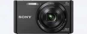 Digitálny fotoaparát Sony Cybershot DSC-W830, čierna