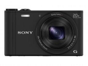 Digitálny fotoaparát Sony Cybershot DSC-WX350, čierna