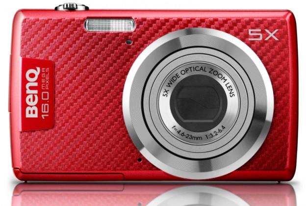 Digitálny kompakt  BenQ AE220 červený, 9H.A2S01.6AE