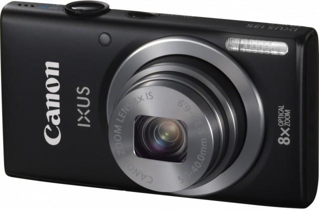 Digitálny kompakt  Canon IXUS 135 Black