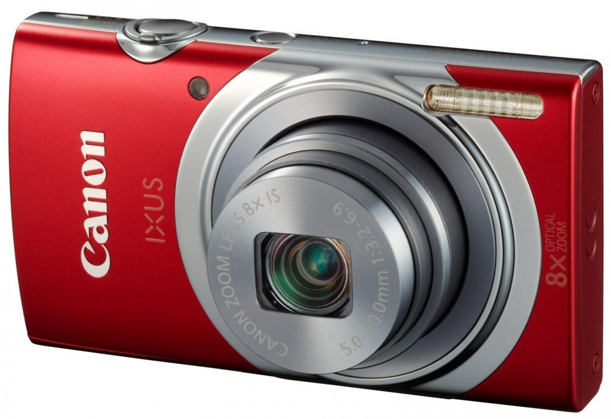 Digitálny kompakt Canon IXUS 150 Red