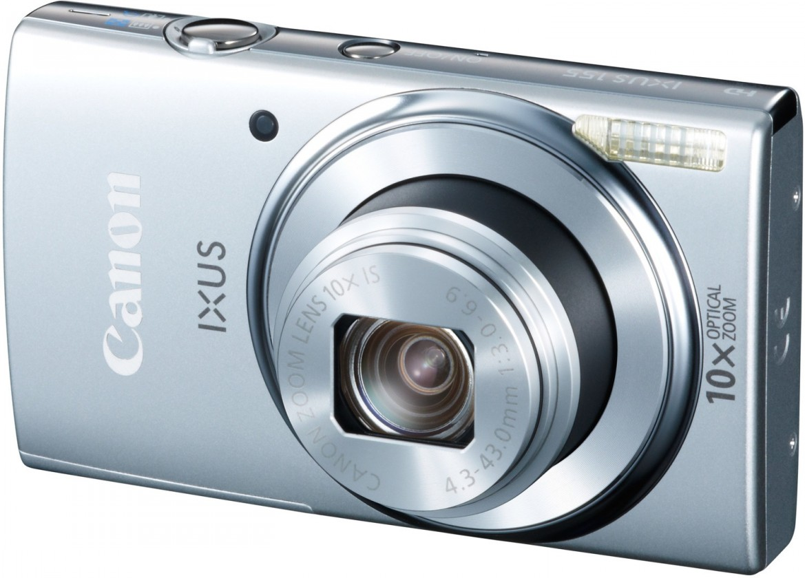 Digitálny kompakt Canon IXUS 155 Silver