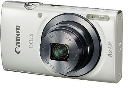 Digitálny kompakt Canon IXUS 160, 20.0Mpix, 8x zoom - Biely