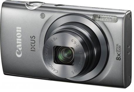 Digitálny kompakt Canon IXUS 160 stříbrný