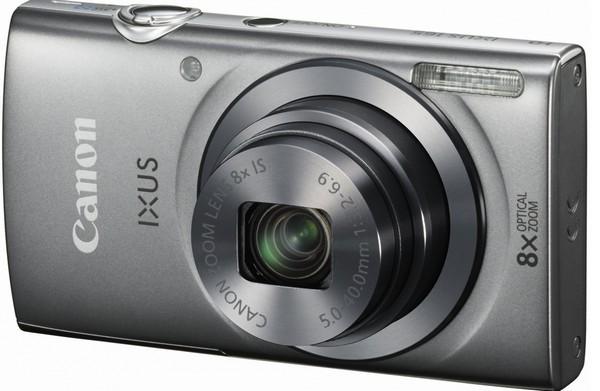 Digitálny kompakt Canon IXUS 165 stříbrný