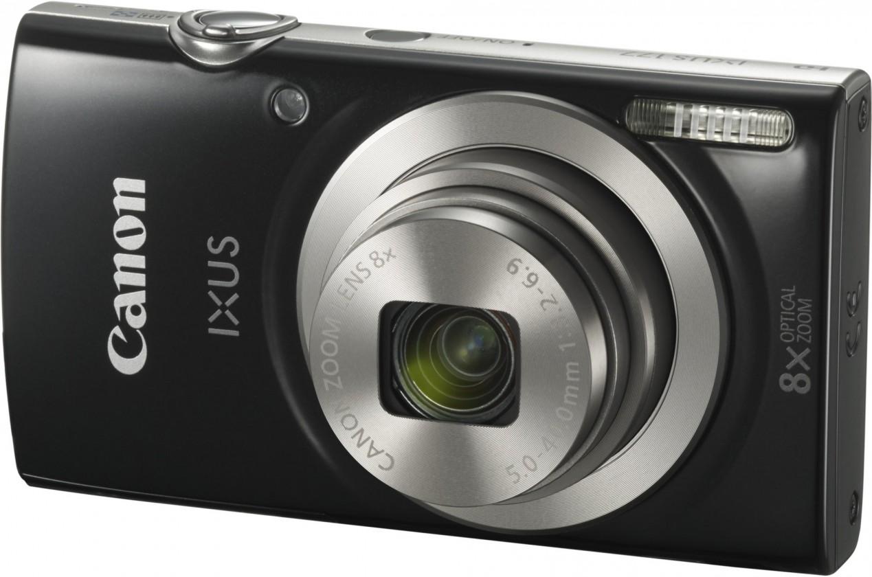 Digitálny kompakt Canon IXUS 177, čierny + púzdro