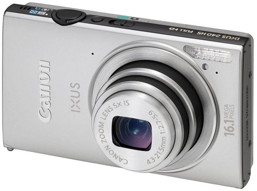 Digitálny kompakt  Canon IXUS 240 HS Silver