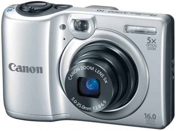 Digitálny kompakt  Canon POWERSHOT A1300 Silver