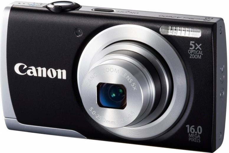 Digitálny kompakt  Canon POWERSHOT A2600 Black