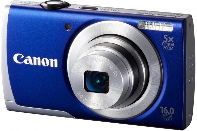Digitálny kompakt  Canon POWERSHOT A2600 Blue
