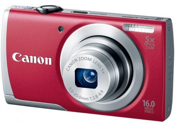 Digitálny kompakt  Canon POWERSHOT A2600 Red