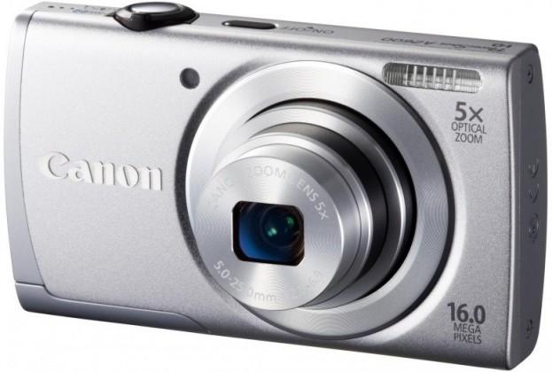 Digitálny kompakt  Canon POWERSHOT A2600 Silver