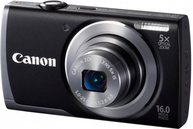 Digitálny kompakt  Canon PowerShot A3500 IS Black