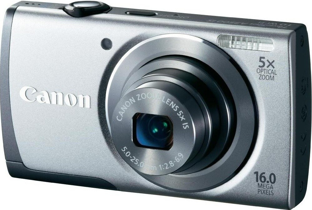 Digitálny kompakt  Canon POWERSHOT A3500 Silver