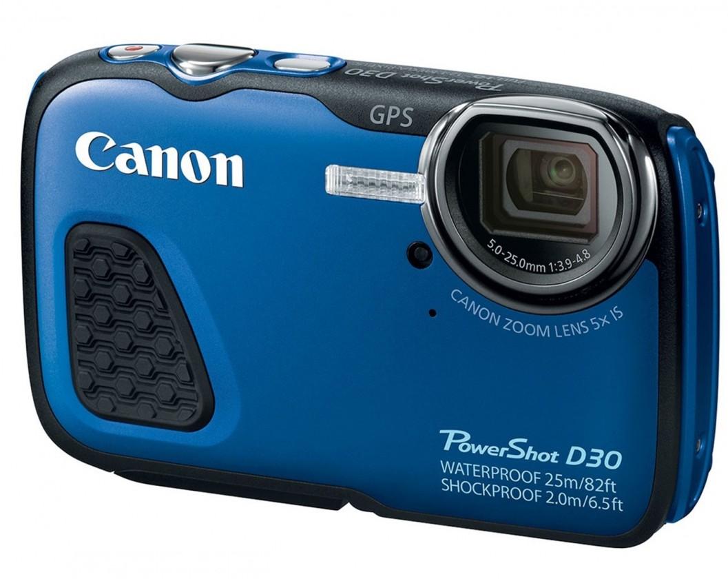 Digitálny kompakt Canon PowerShot D30