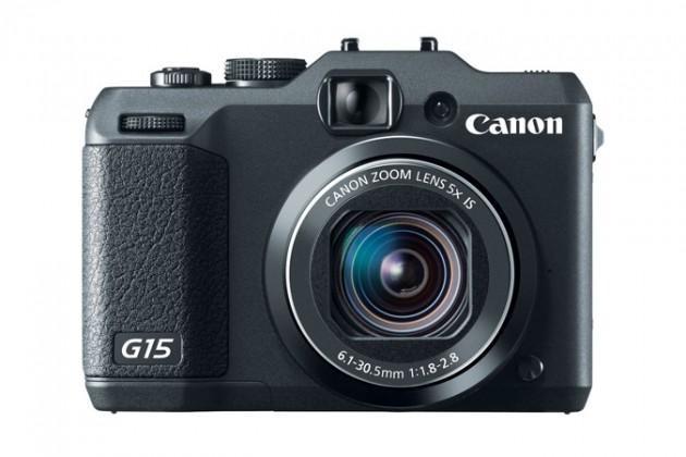 Digitálny kompakt  Canon POWERSHOT G15 Black