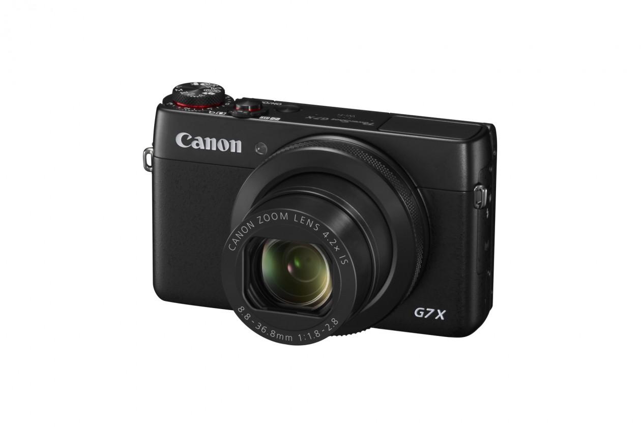 Digitálny kompakt Canon PowerShot G7 X, 20.2Mpix, 4.2x zoom - černý