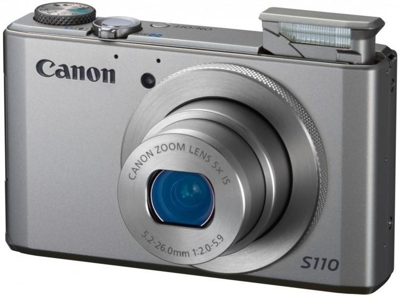 Digitálny kompakt  Canon POWERSHOT S110 Silver