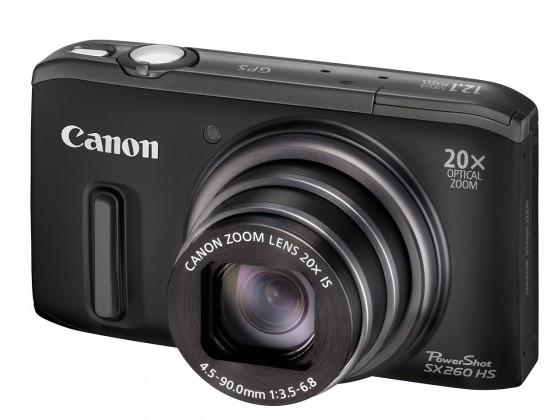 Digitálny kompakt  Canon POWERSHOT SX 240 HS Black