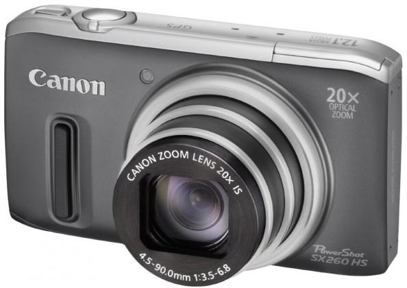 Digitálny kompakt  Canon POWERSHOT SX 260 HS Grey
