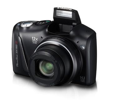 Digitálny kompakt  Canon PowerShot SX150 IS Black