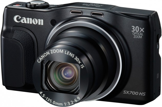 Digitálny kompakt Canon PowerShot SX700 čierny, 16Mpx, 30xzoom, 3''