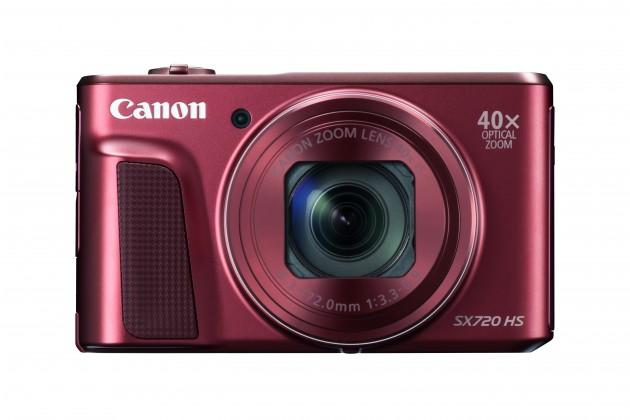 Digitálny kompakt Canon PowerShot SX720 HS RED