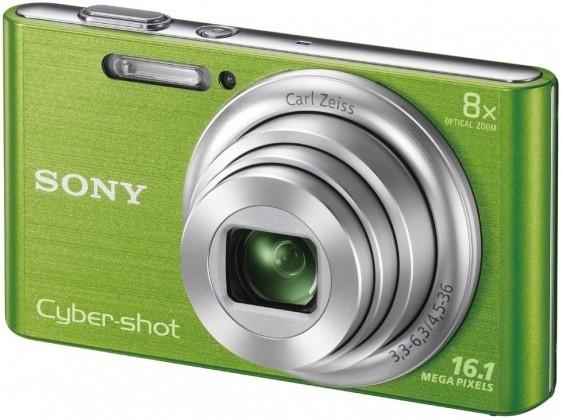 Digitálny kompakt  Digitální fotoaparát DSCW730G.CE3
