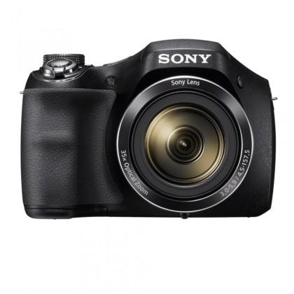 Digitálny kompakt Digitálny fotoaparát Sony Cybershot DSC-H300, čierna